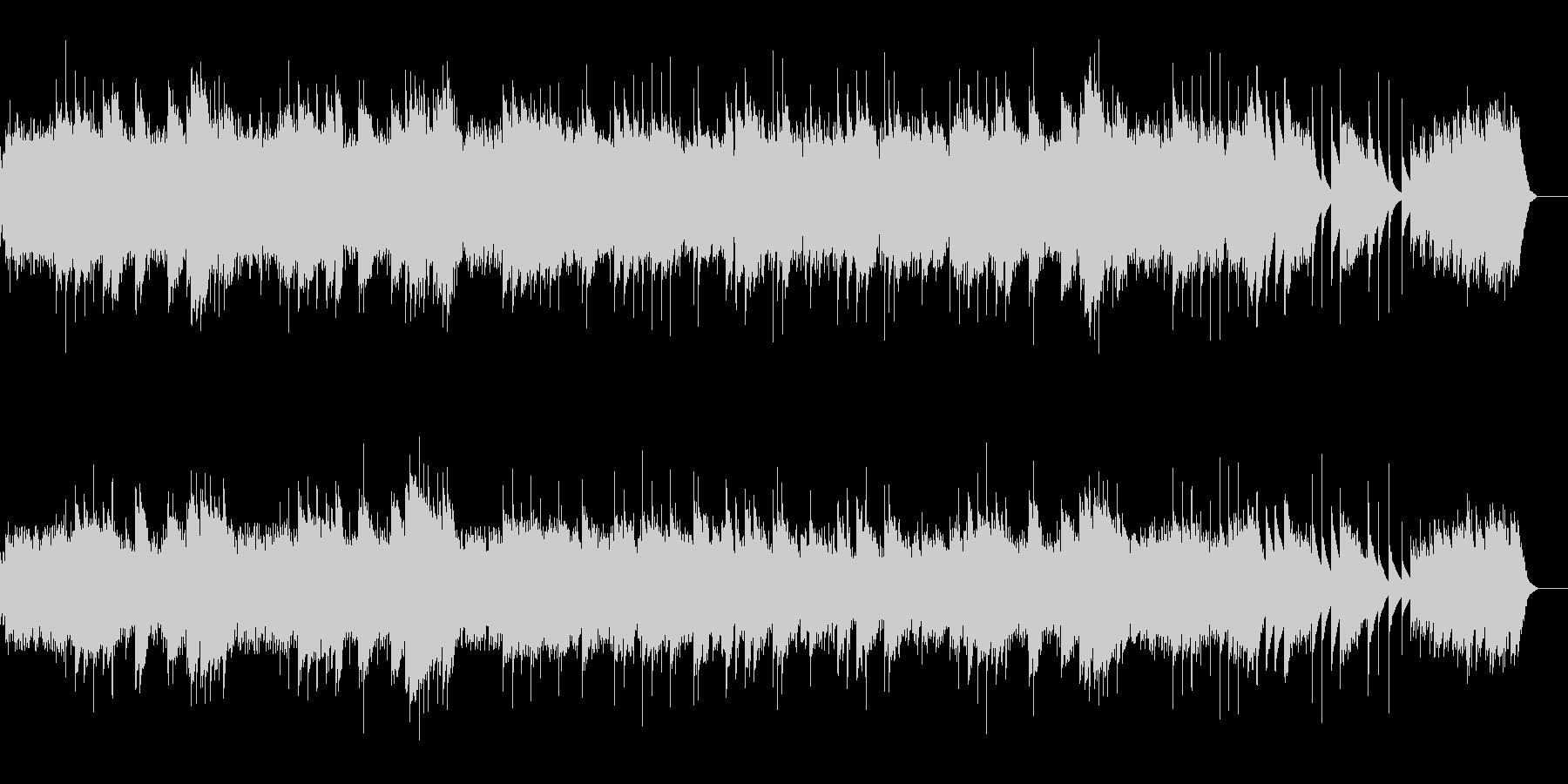 動物の謝肉祭 白鳥 (オルゴール)の未再生の波形