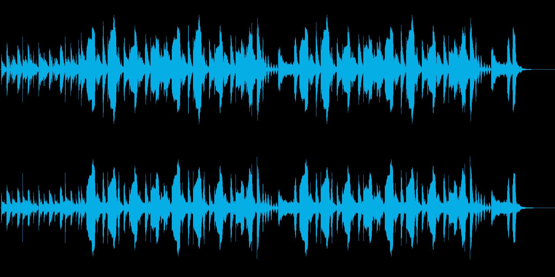 クラリネット、マリンバ、とぼけた、日常の再生済みの波形