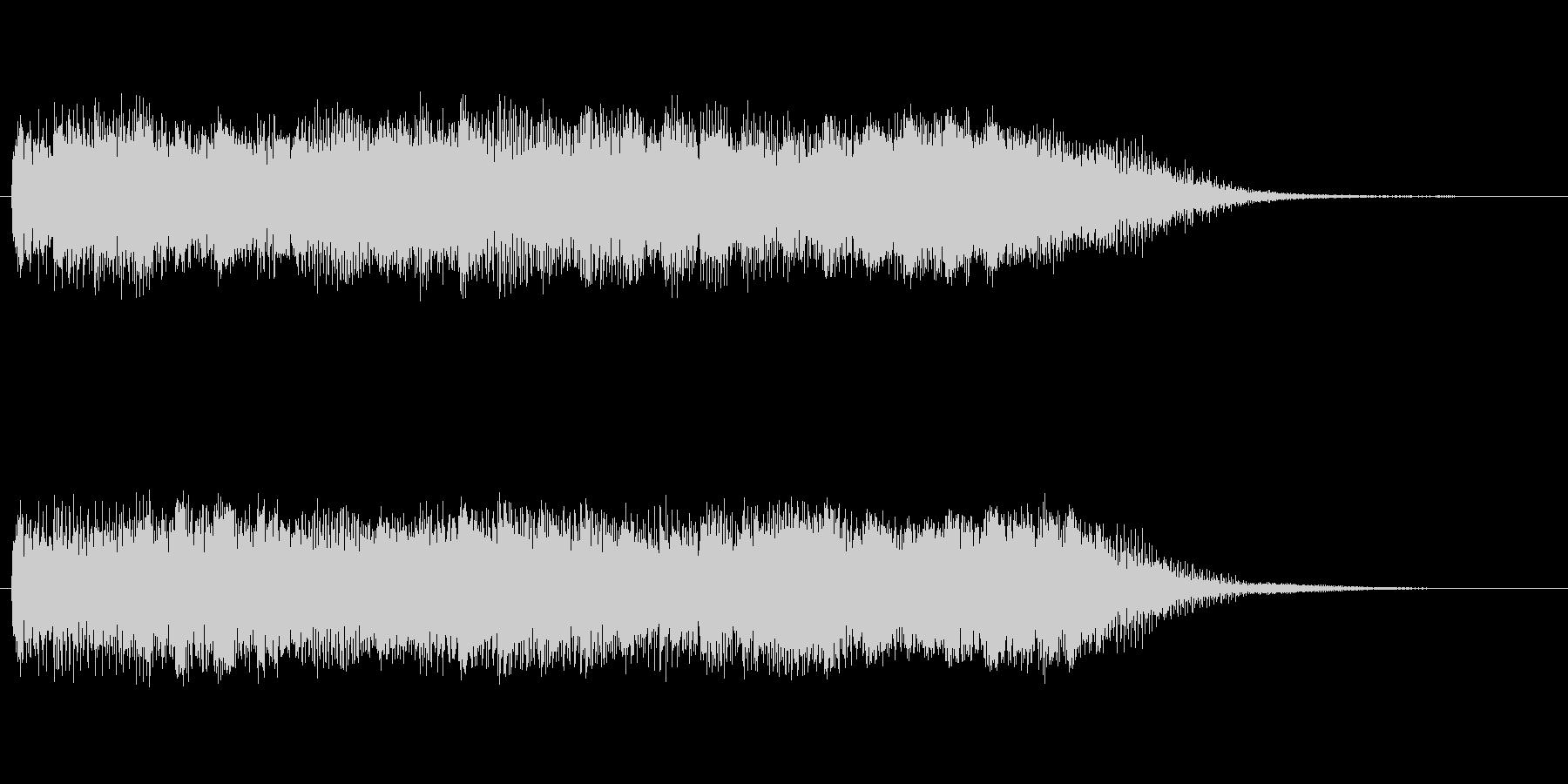 回転音的で動物の鳴き声にも聞こえる音ですの未再生の波形