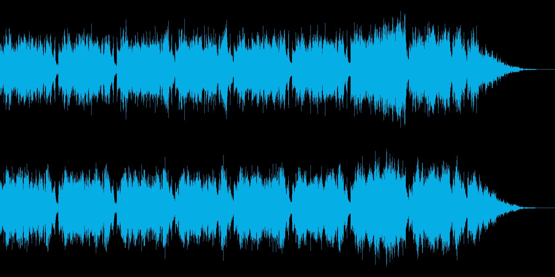 おしゃれなオーケストラの再生済みの波形