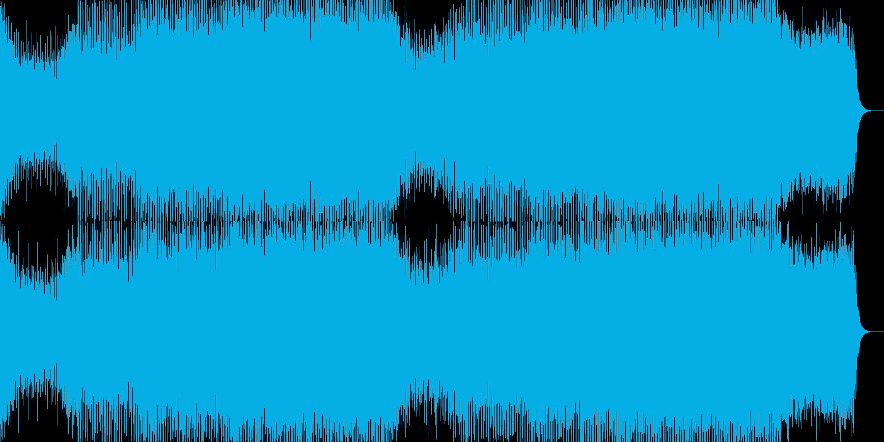 EDMポップで明るいクラブ系-75の再生済みの波形