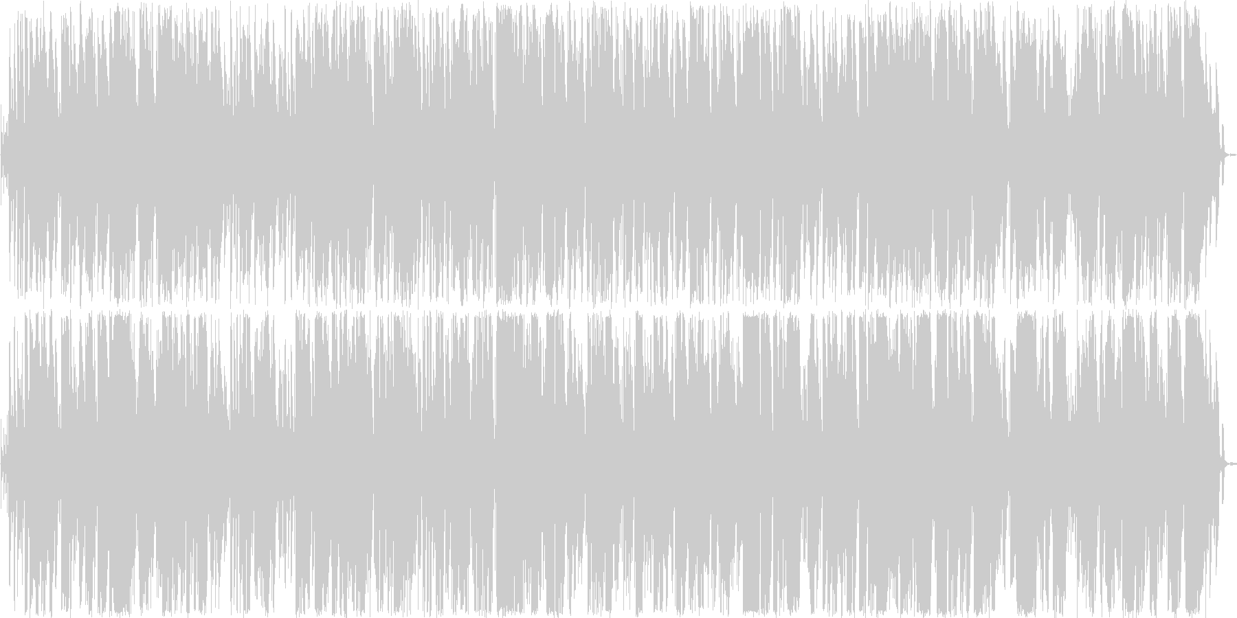 おしゃれなトランペットボサノヴァの未再生の波形