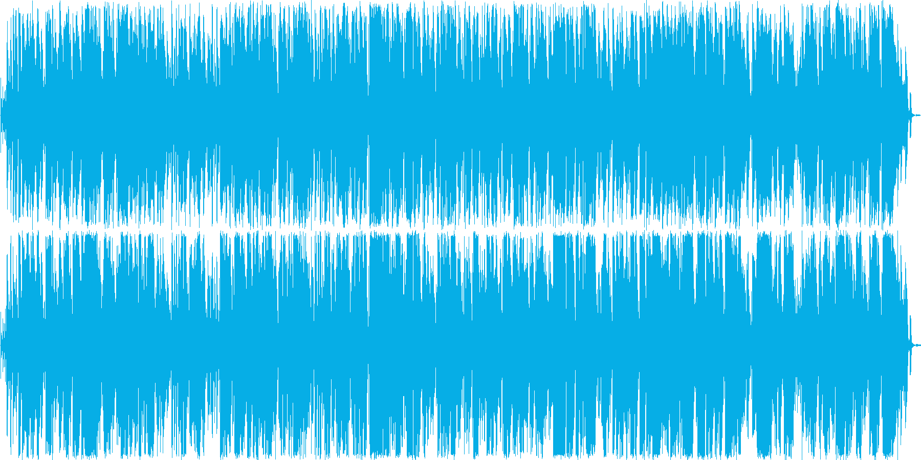 おしゃれなトランペットボサノヴァの再生済みの波形