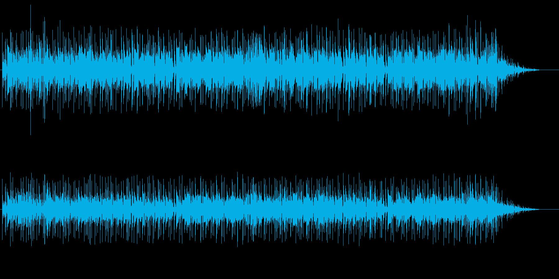 オープニング向きのイージーリスニングの再生済みの波形