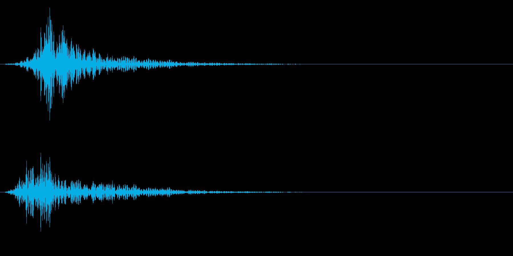 シネマティック 風切り インパクト!14の再生済みの波形
