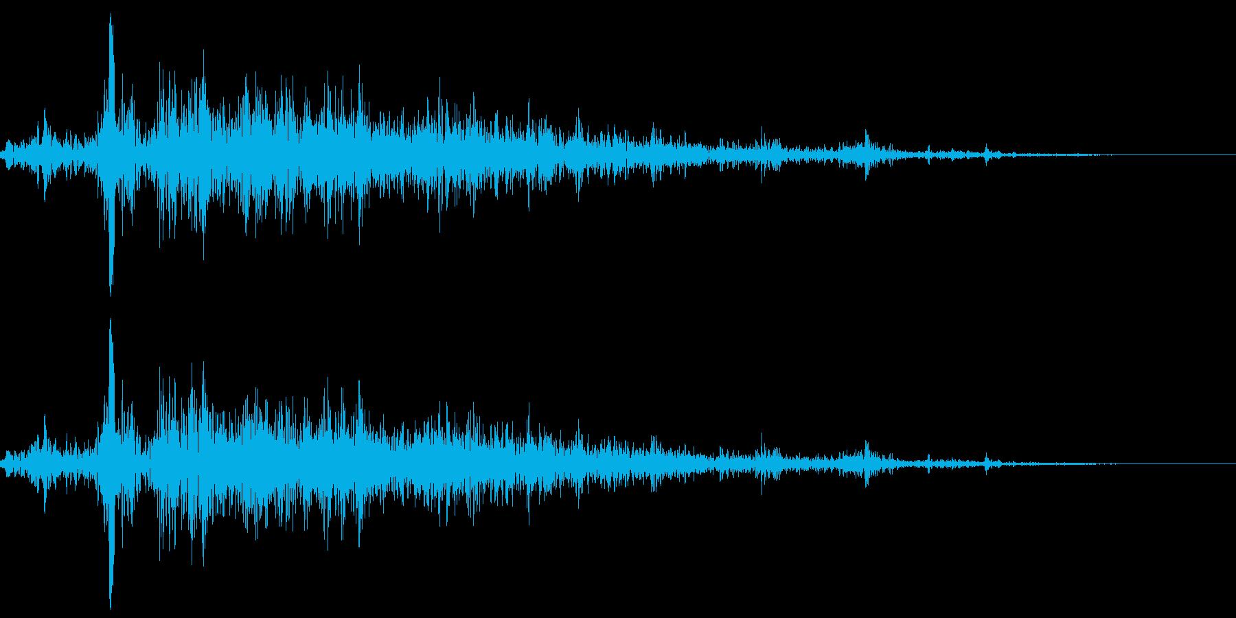 モンスター・海洋生物の触手が素早く伸びるの再生済みの波形