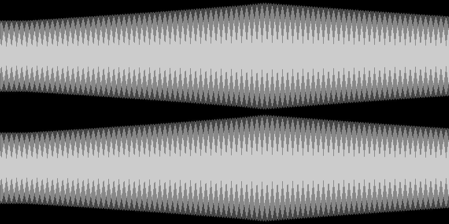 ピッ (レトロRPG風)の未再生の波形