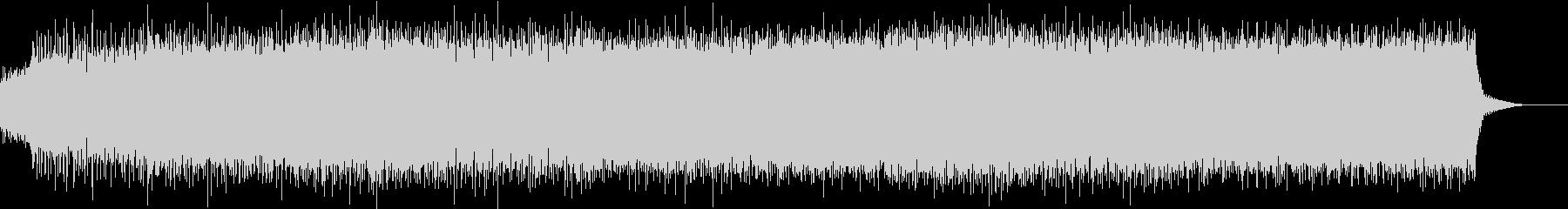 ピコピコ系のインダストリアルロックの未再生の波形