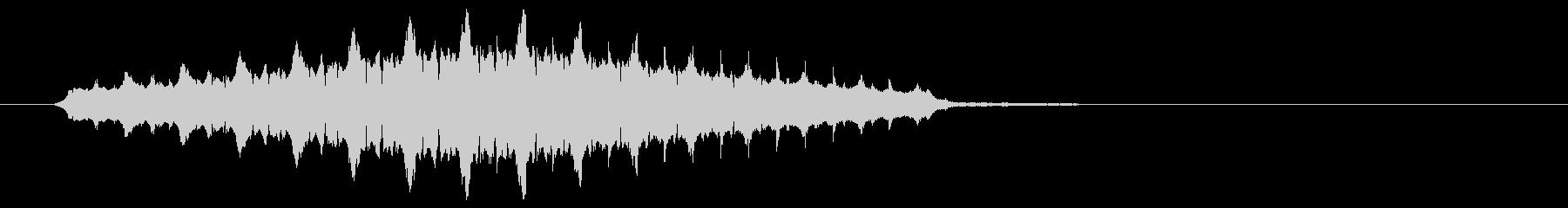 ピの連音(警報音、警戒音)の未再生の波形