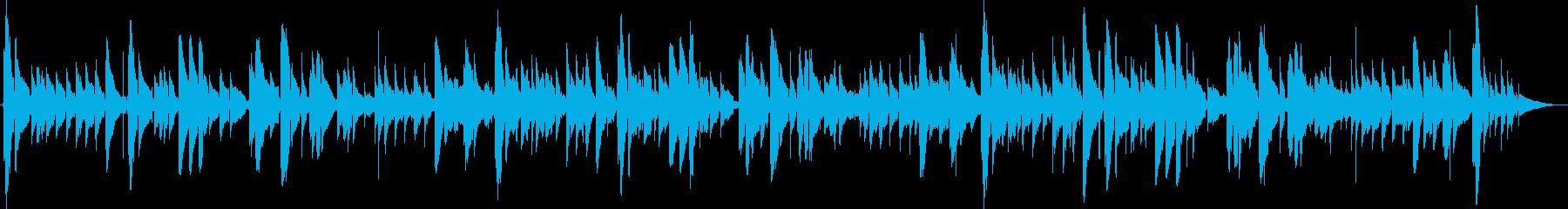 ジュピター アコギ演奏 感動的 結婚式の再生済みの波形