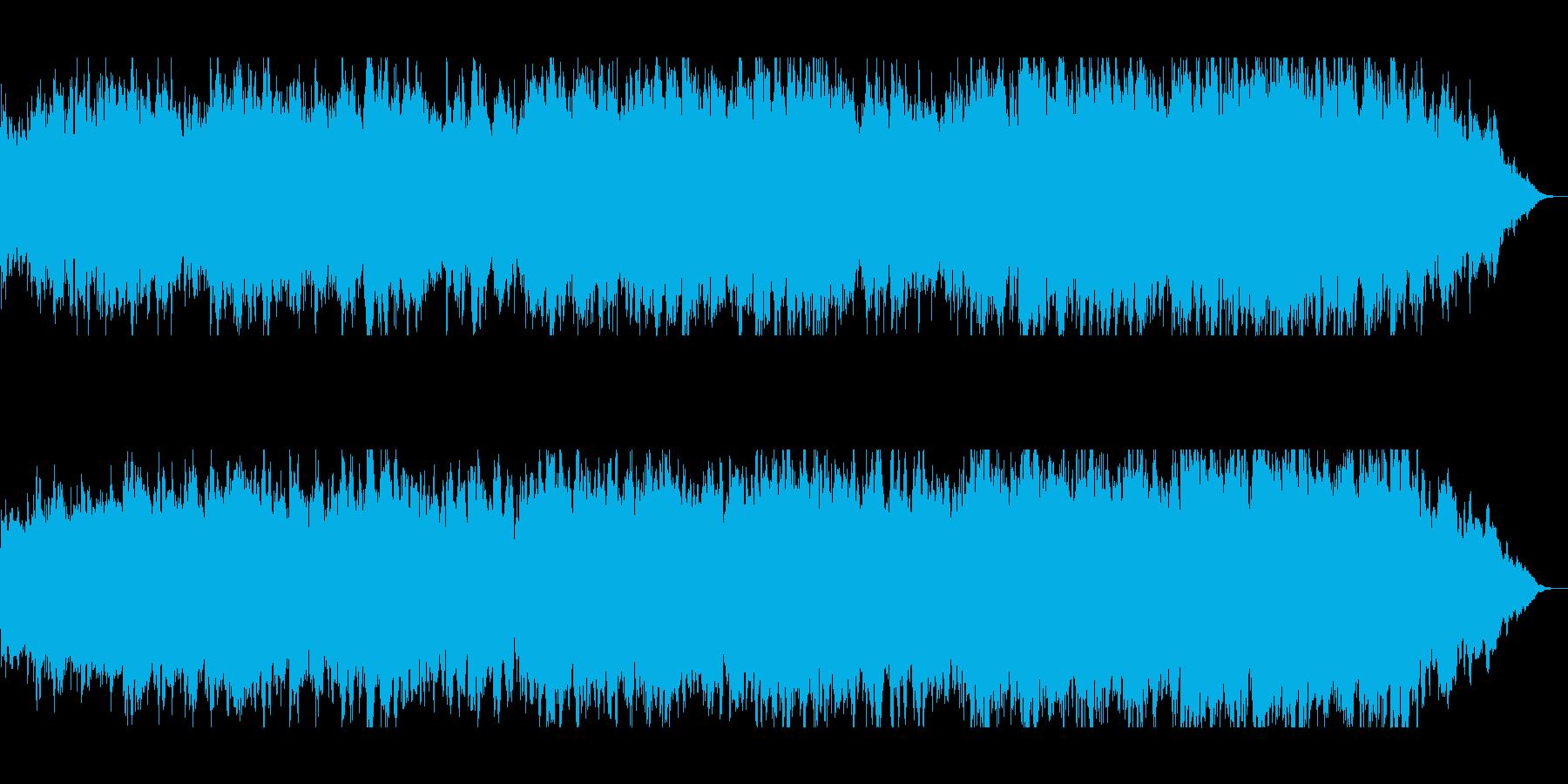優しくゆったりシンセサウンドの再生済みの波形