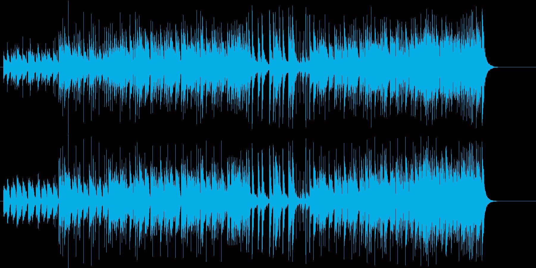 アダルトテイストなラテンの再生済みの波形