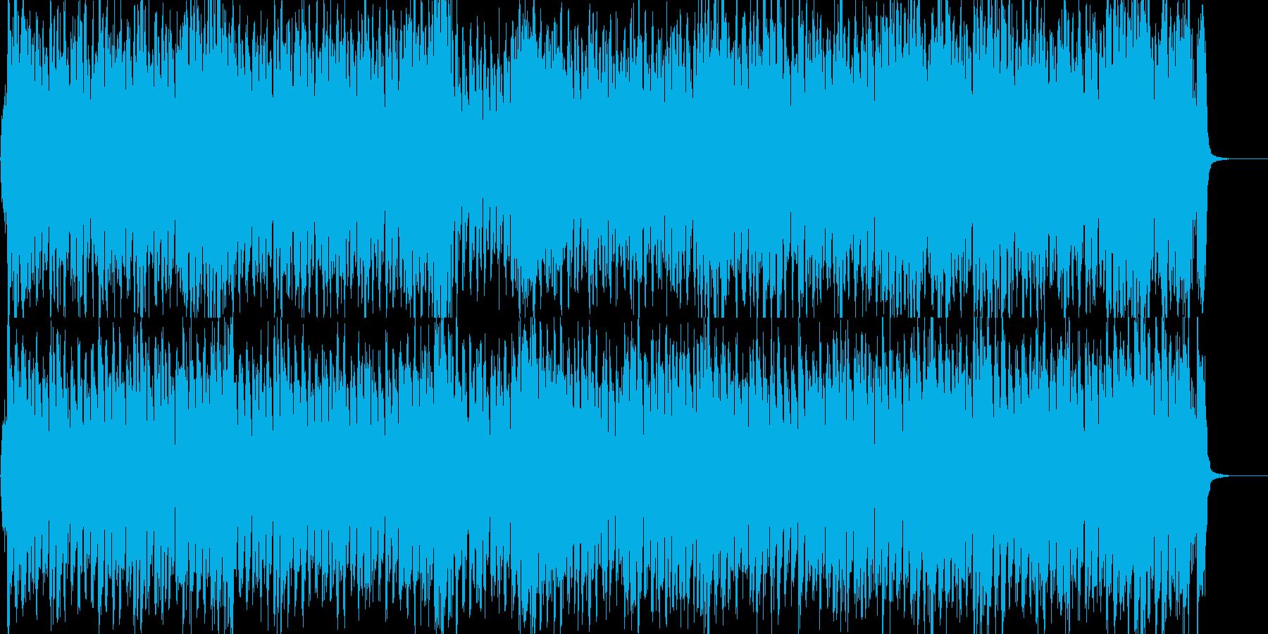 ストリングスが爽やかな4つ打ちポップの再生済みの波形