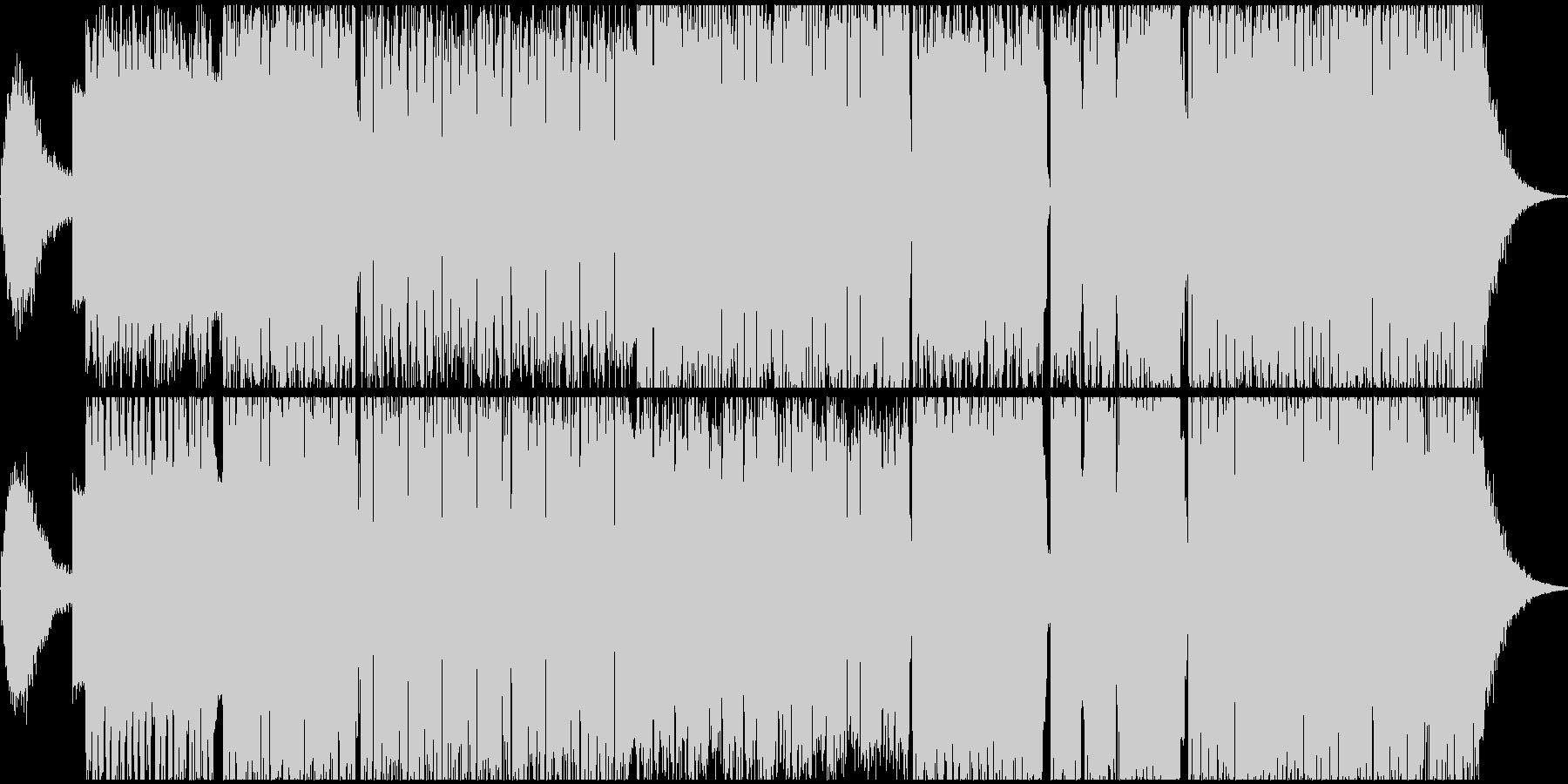 BGM EDM の未再生の波形
