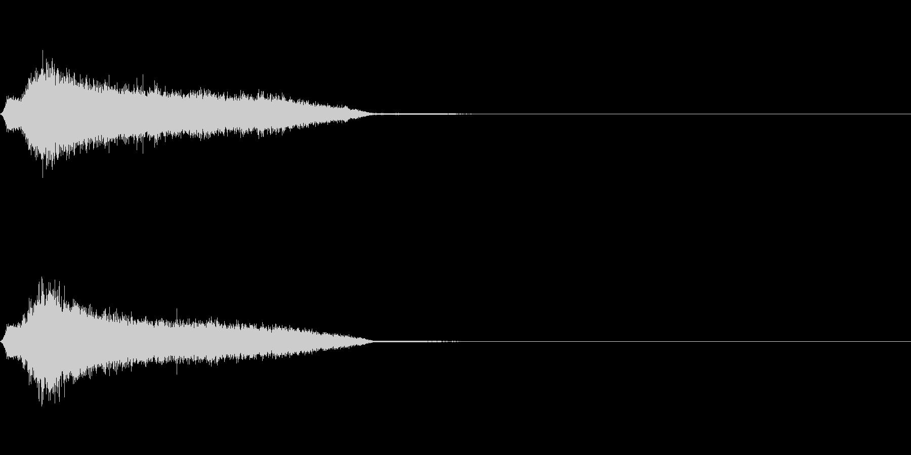 ガチャ_ゲット音(レア度S)の未再生の波形