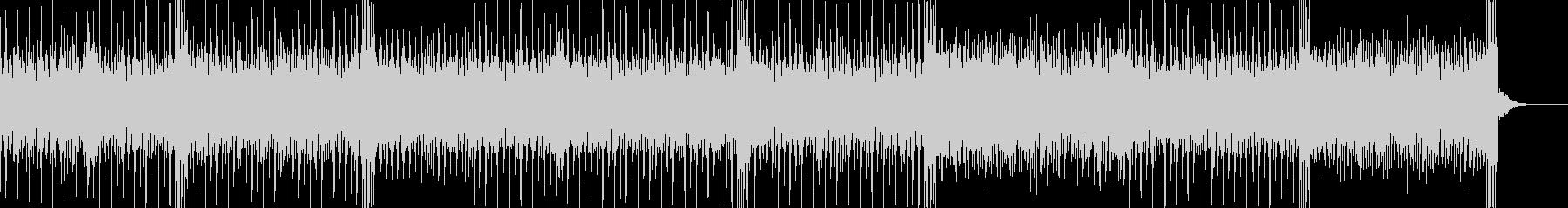 トランスっぽいアルペジオが印象的なBGMの未再生の波形