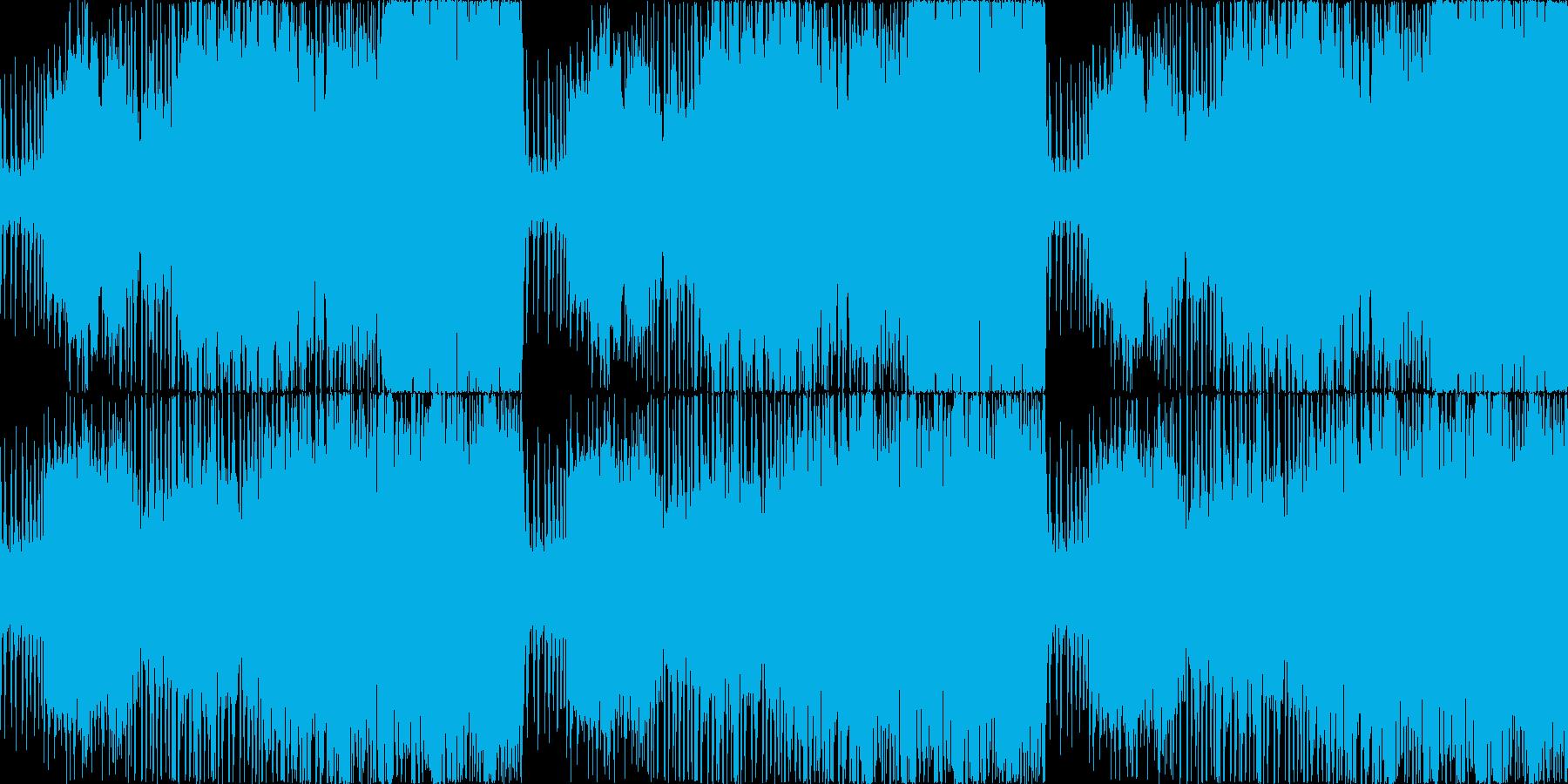 迫力のボス戦オーケストラ戦闘曲(修正版の再生済みの波形