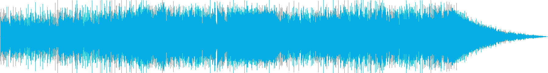 アカデミックで知的なテクノの再生済みの波形