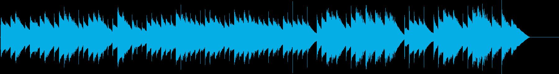 オルゴールで子守唄2(ブラームス)の再生済みの波形