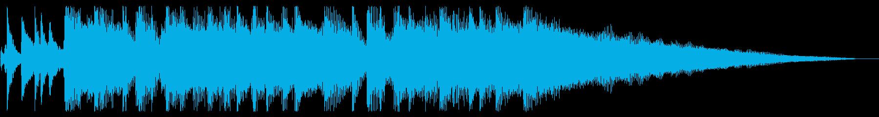 【気分一新1】の再生済みの波形