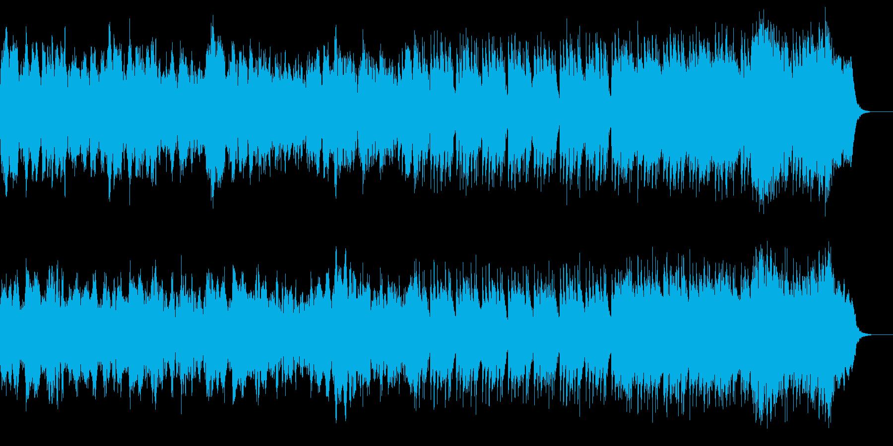 壮大なオーケストラ 決戦前夜の再生済みの波形