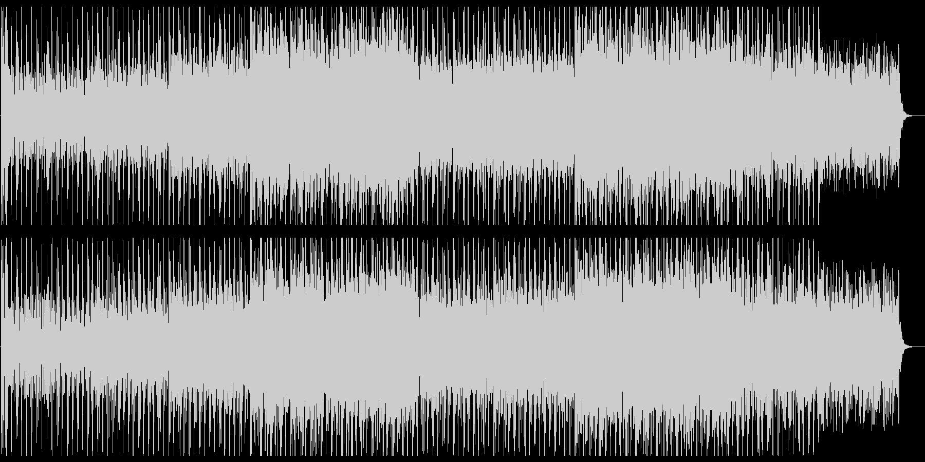 ゆったりと朗らかなシンセポップサウンドの未再生の波形