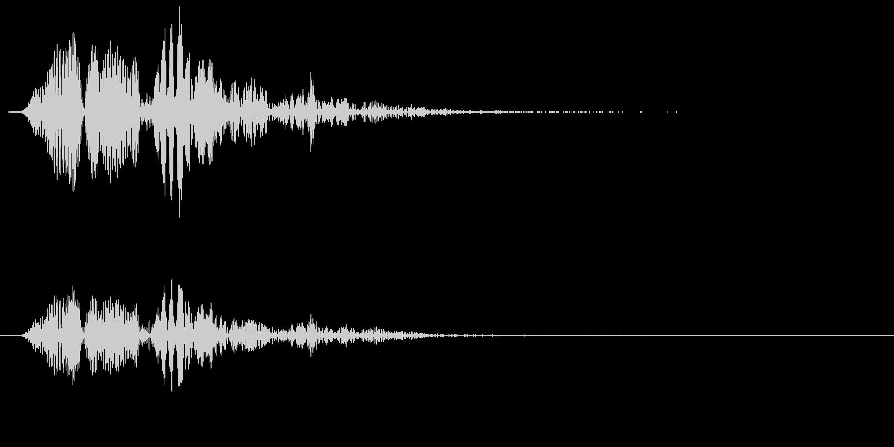 ポヨヨーンの未再生の波形