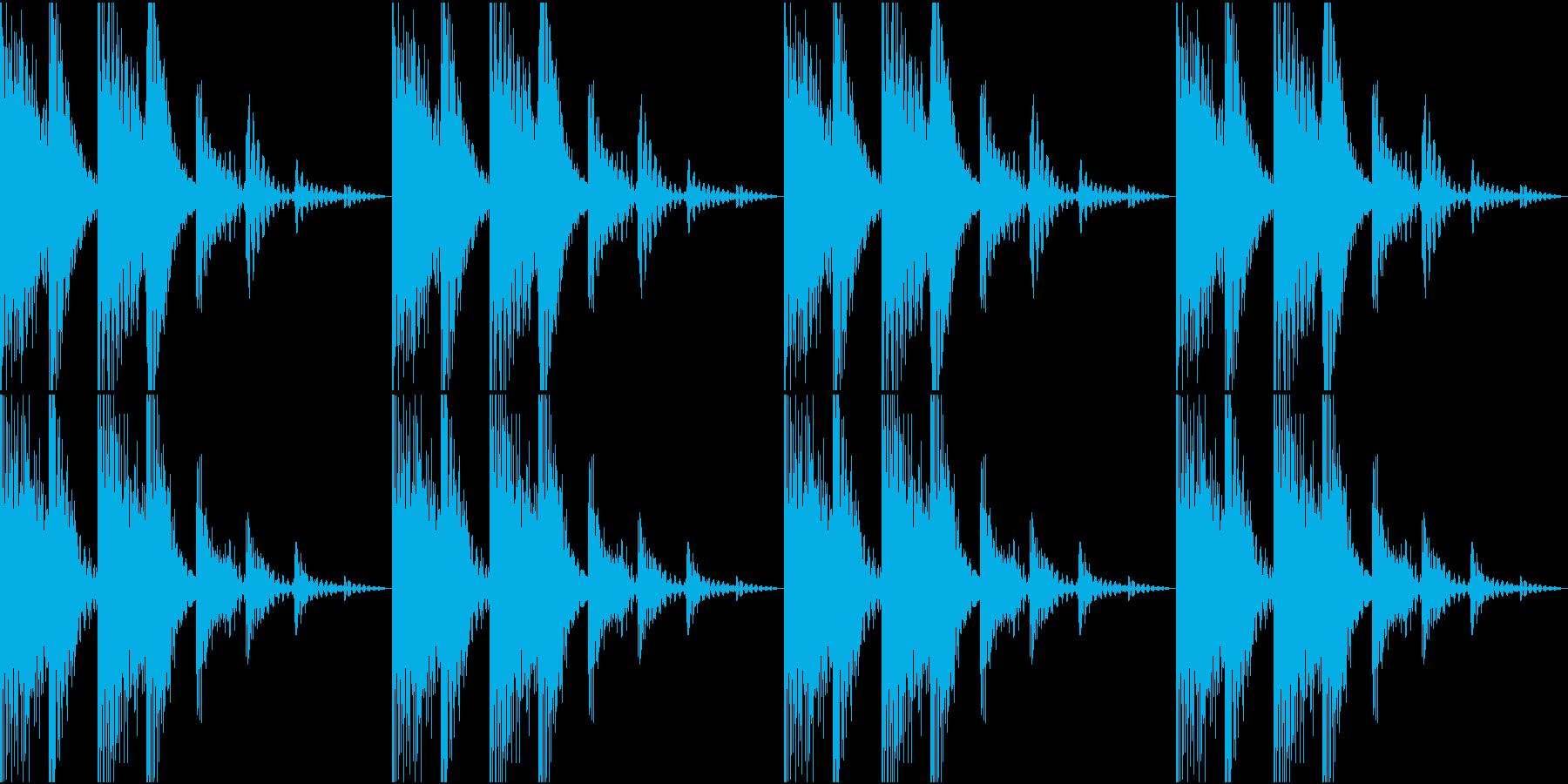 SFX ケミカルなループ 騙し合いの再生済みの波形