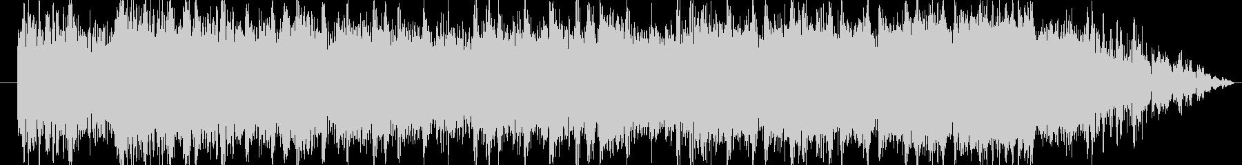 ロック系ビートを基調にした登場系ジングルの未再生の波形