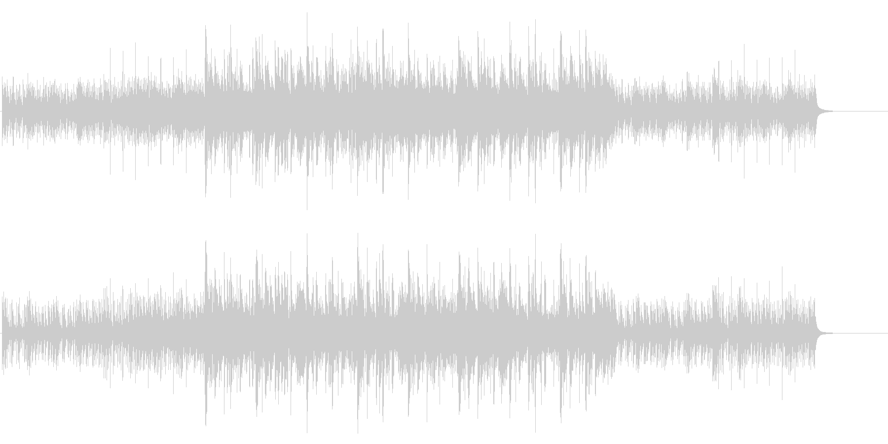 企業VP、CM等アルペジオピアノが印象的の未再生の波形
