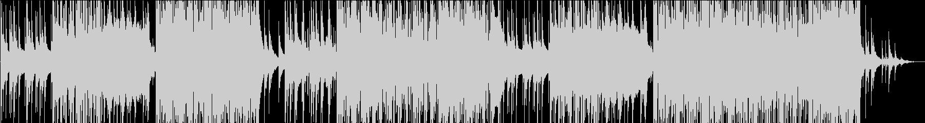 静かなピアノのFuture Bassの未再生の波形