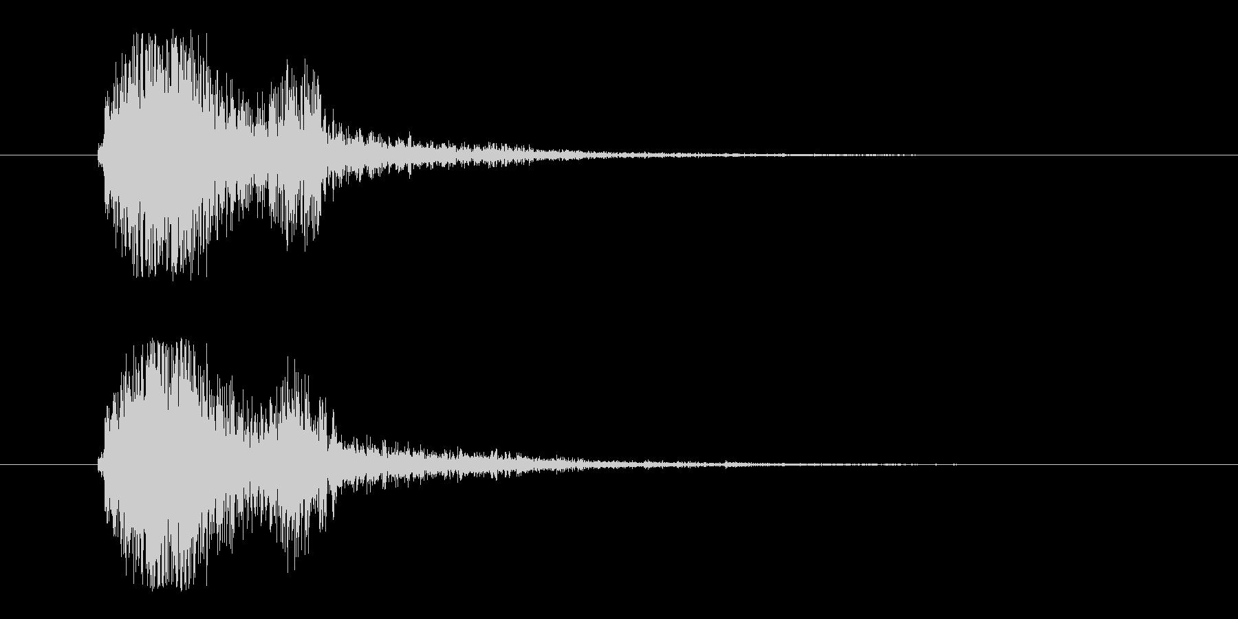 FX・SE/ガン/銃/ブローバック/バンの未再生の波形
