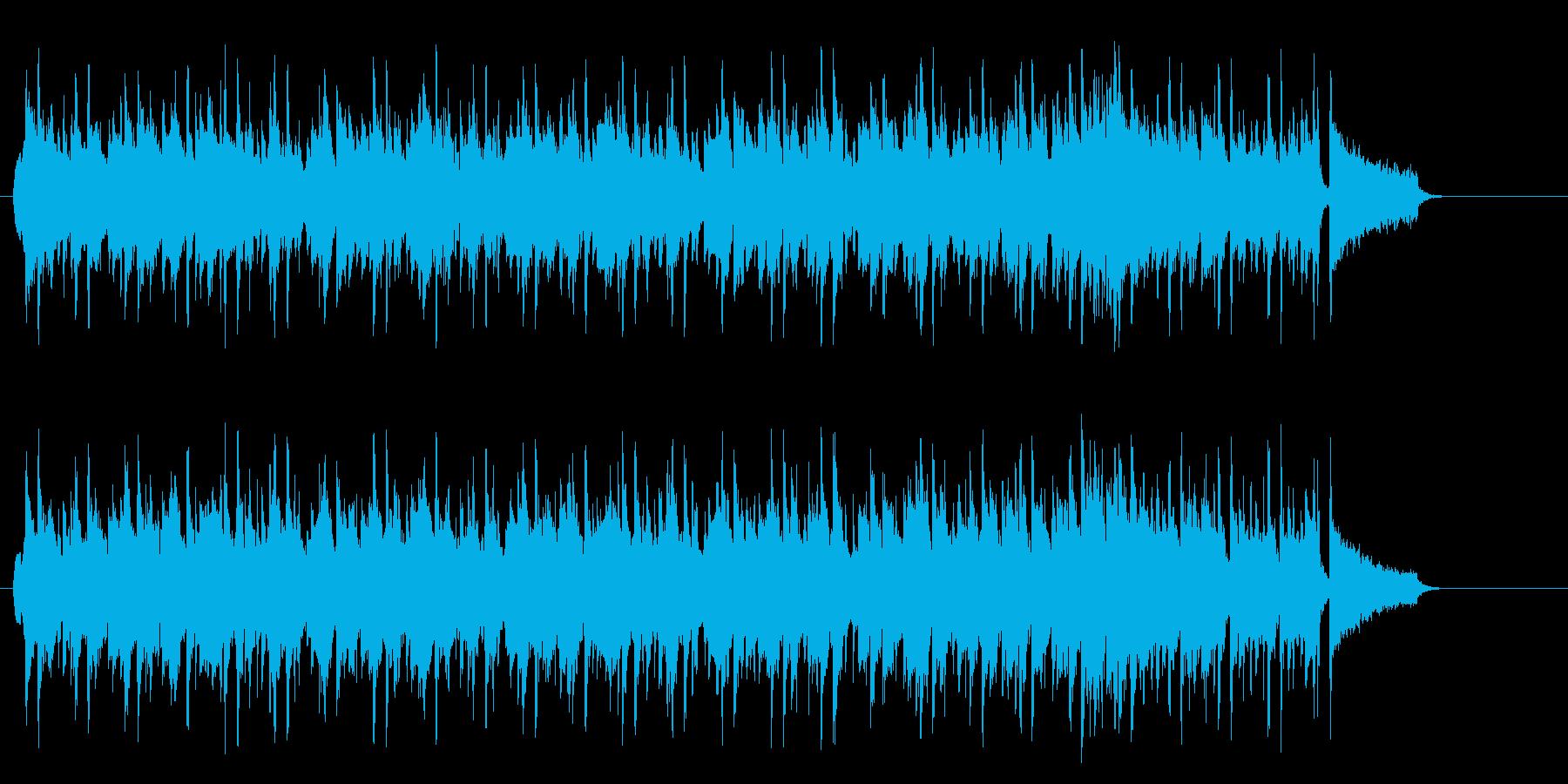 ポカポカ陽気ののどかなポップなレゲエの再生済みの波形