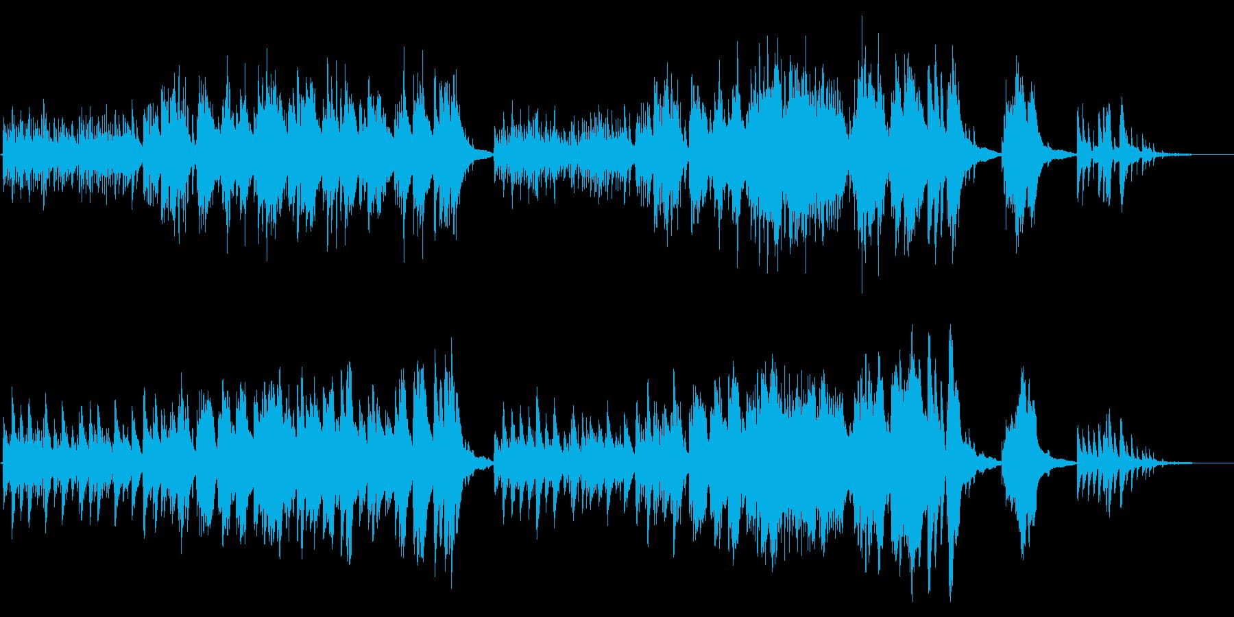 生ピアノで奏でる美しい日本の歌:さくらの再生済みの波形