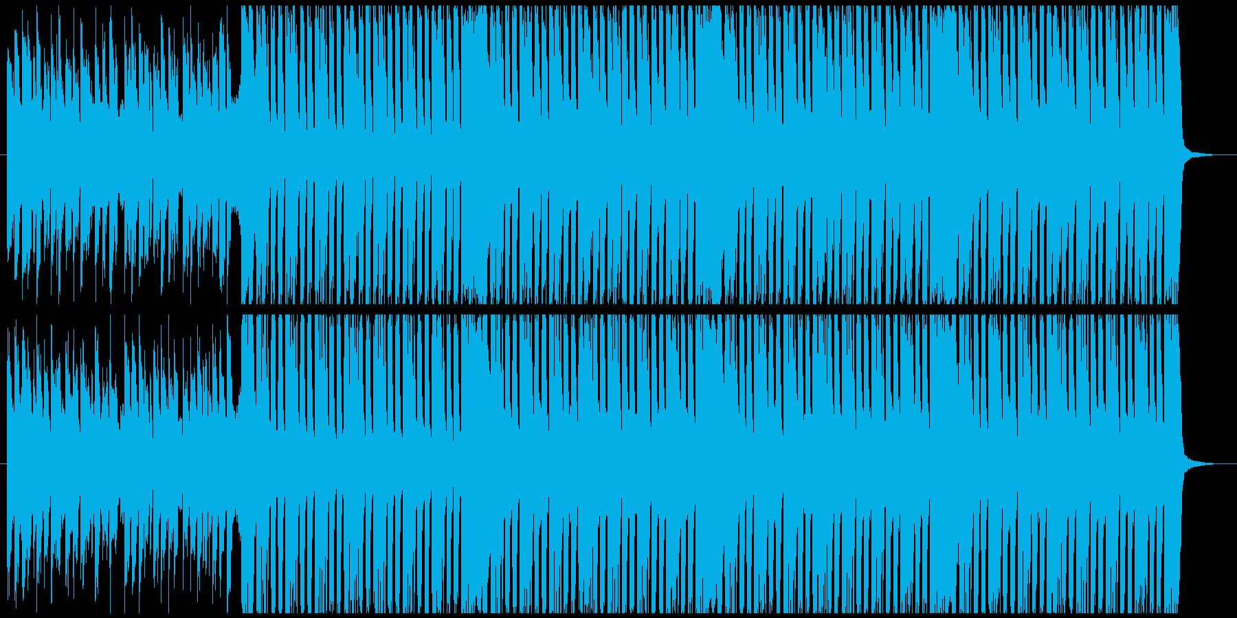 アラビアンなエレクトロミュージックの再生済みの波形