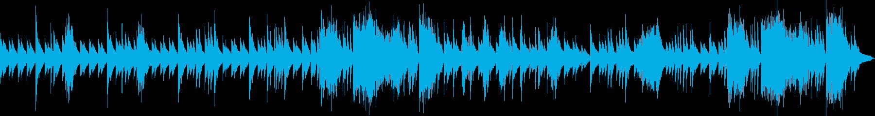 ノスタルジーを感じるゆったりとしたワルツの再生済みの波形