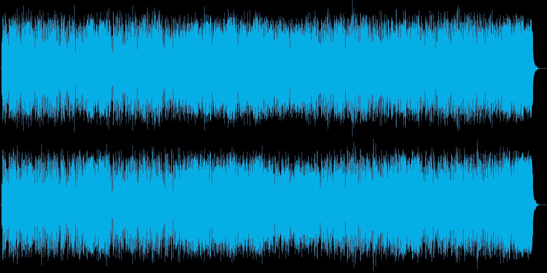 なにかの始まりを予感させるメロディーの再生済みの波形