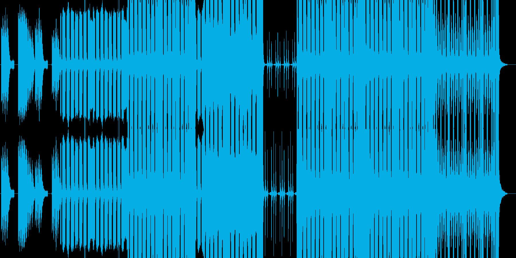 ゲームにて雷系のボスをイメージして作り…の再生済みの波形