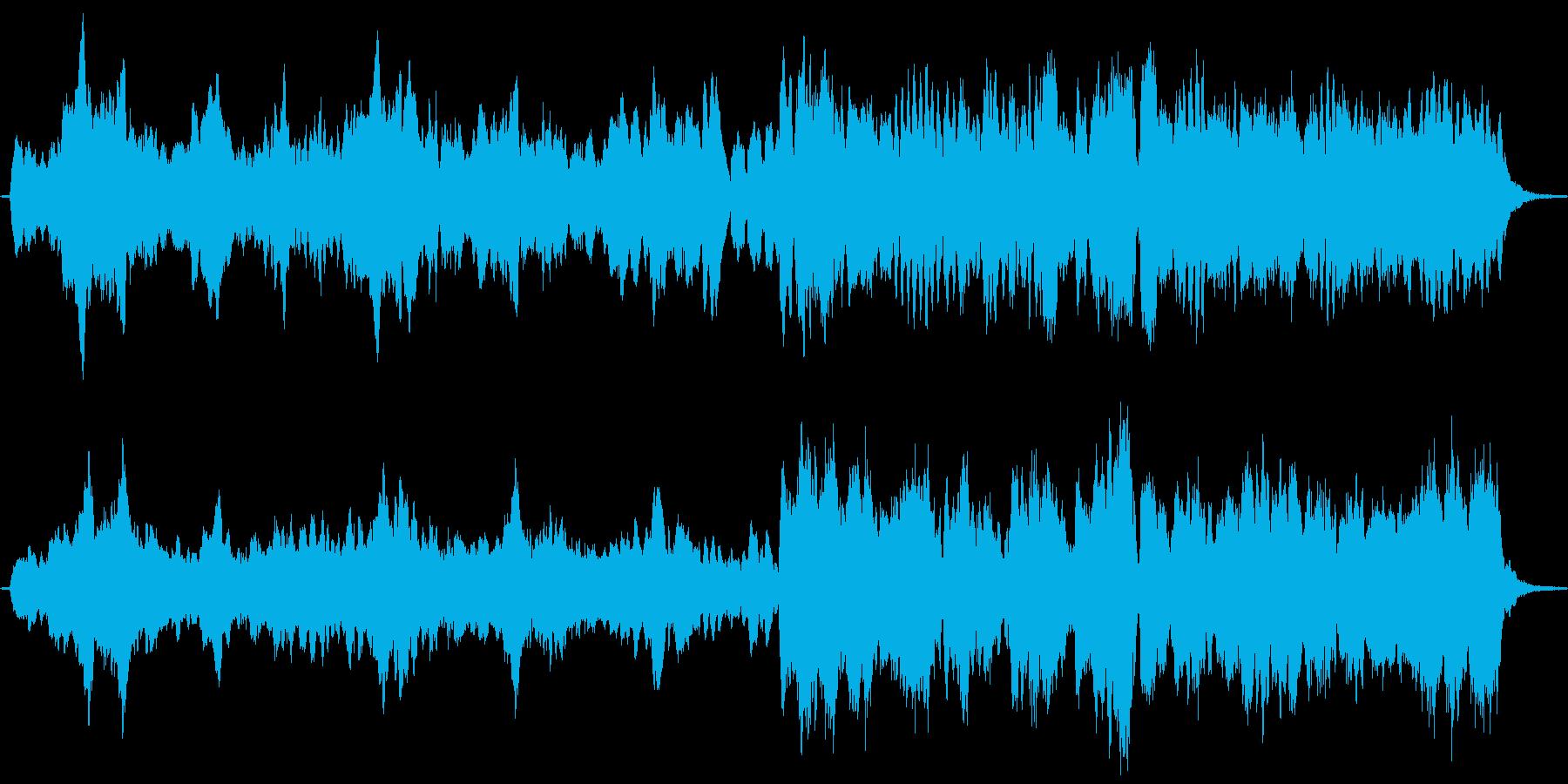ファンタジーRPGの全滅時の音楽をイメ…の再生済みの波形