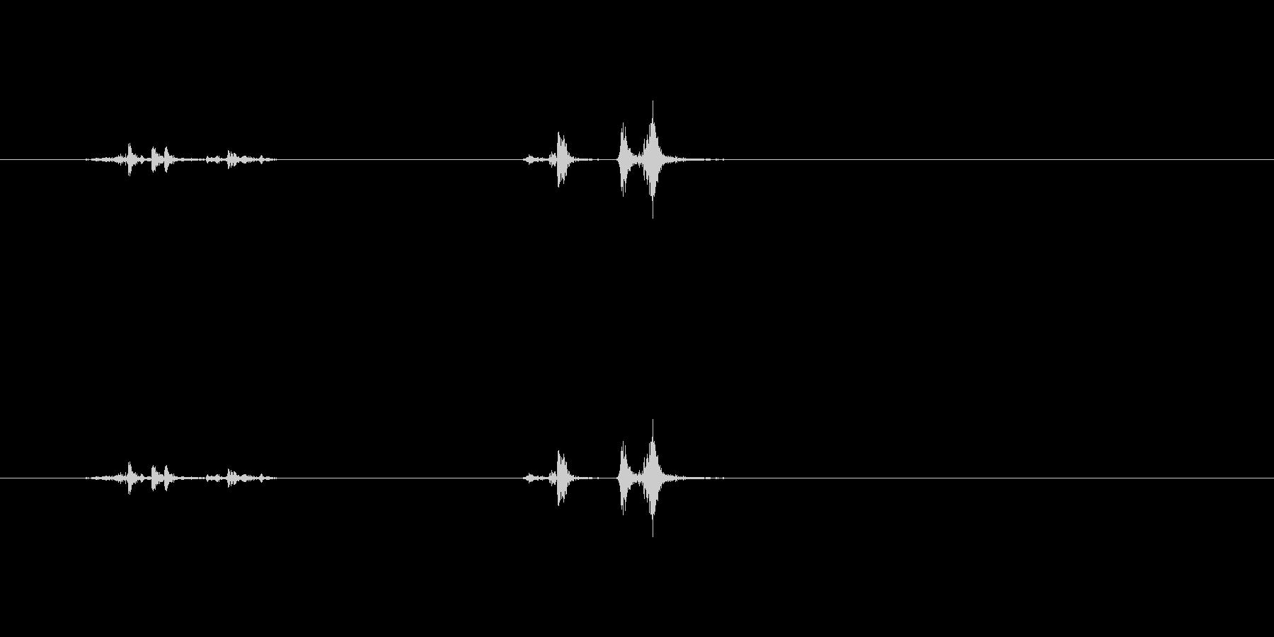 【鉛筆削り03-4(閉じる)】の未再生の波形