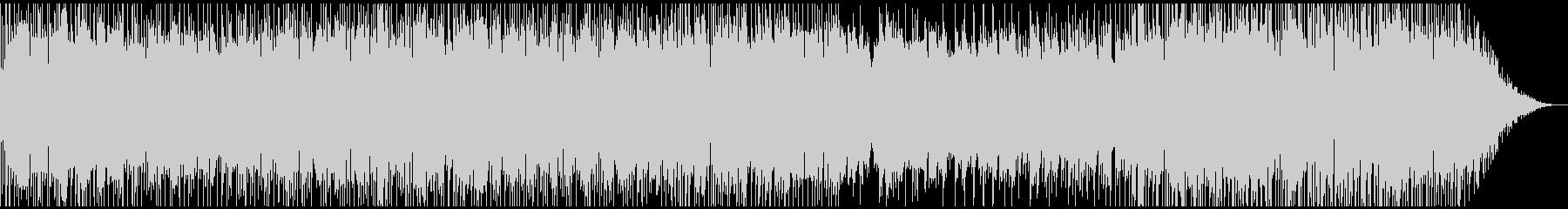 ピアノトリオの軽快なポップの未再生の波形