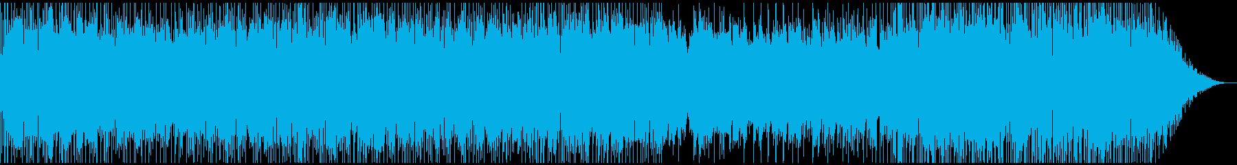 ピアノトリオの軽快なポップの再生済みの波形