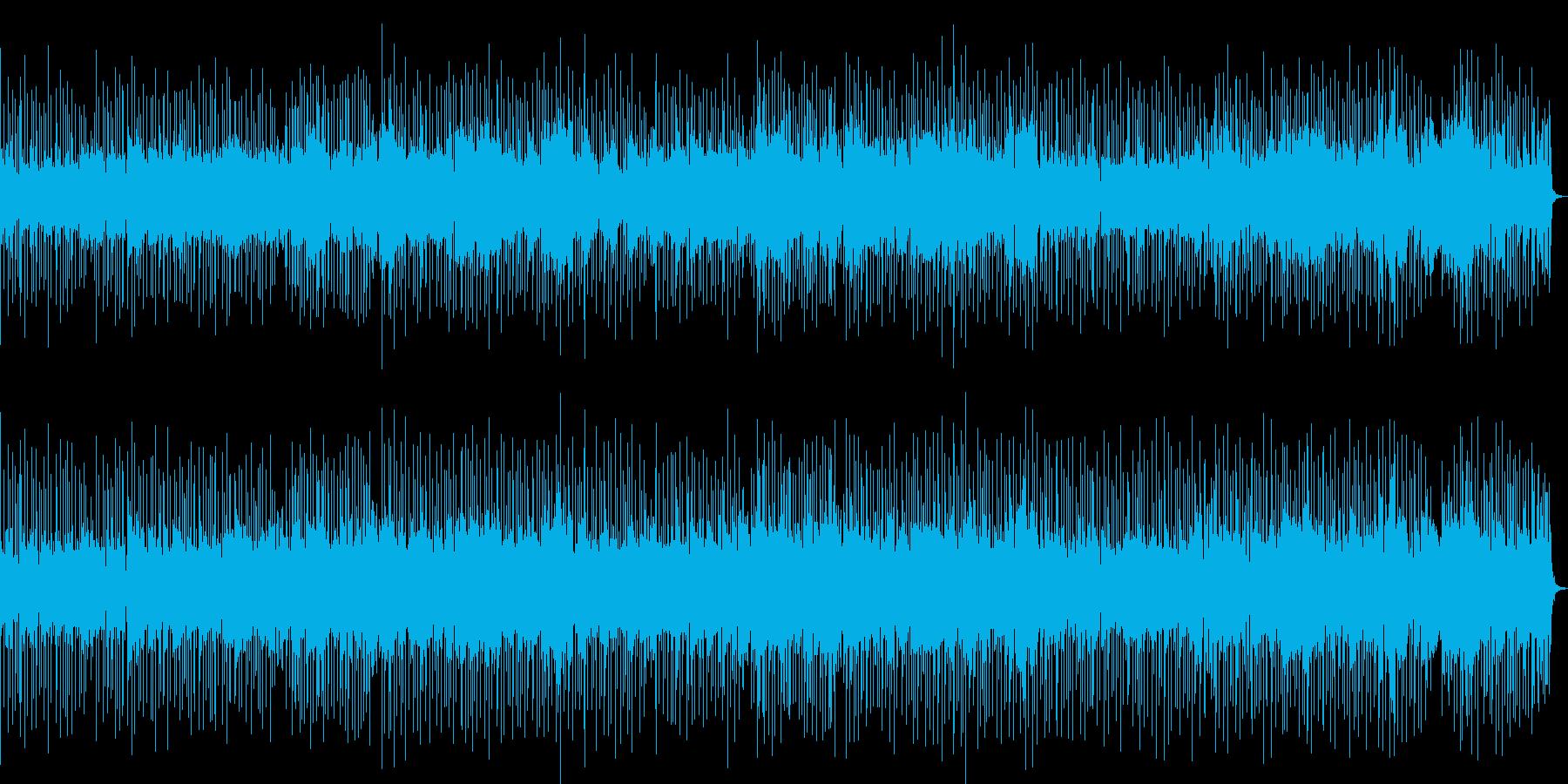 シンプルなFunky Popの再生済みの波形