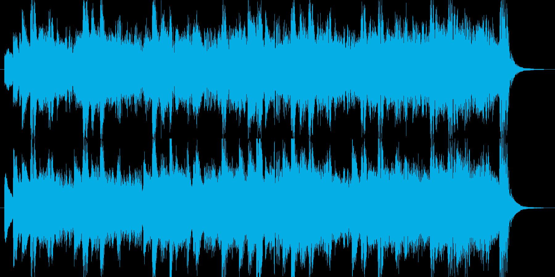 家庭向け製品のCM/爽やか/春の再生済みの波形