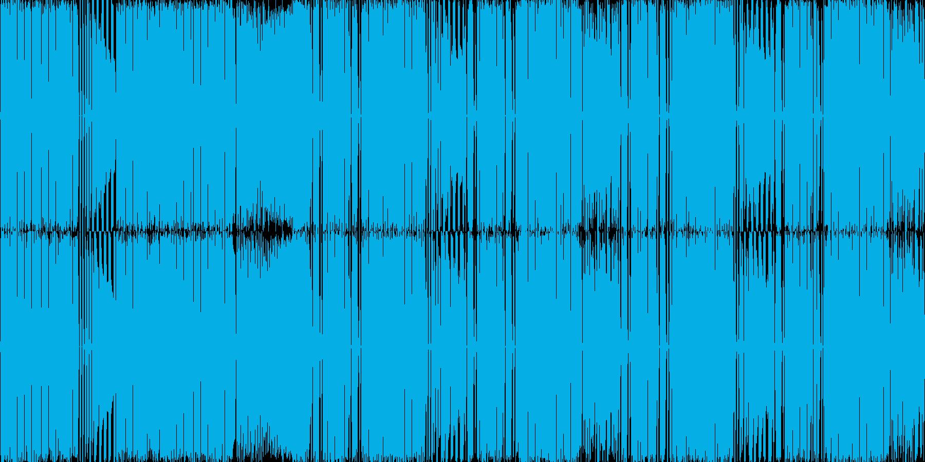 【FMシンセ/ロック/ダブステップ】の再生済みの波形
