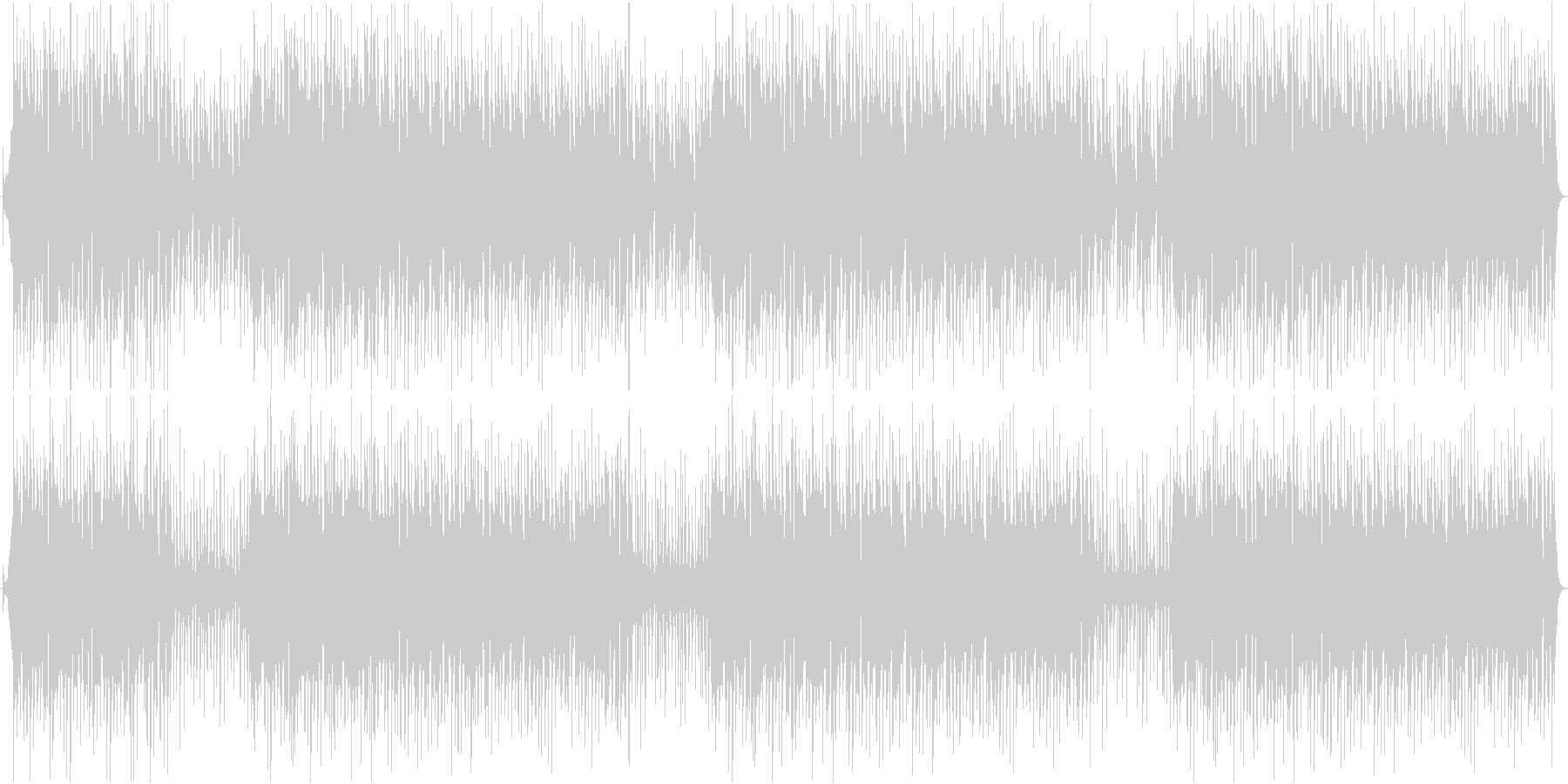 民族楽器、3拍子の明るく軽快なBGMの未再生の波形