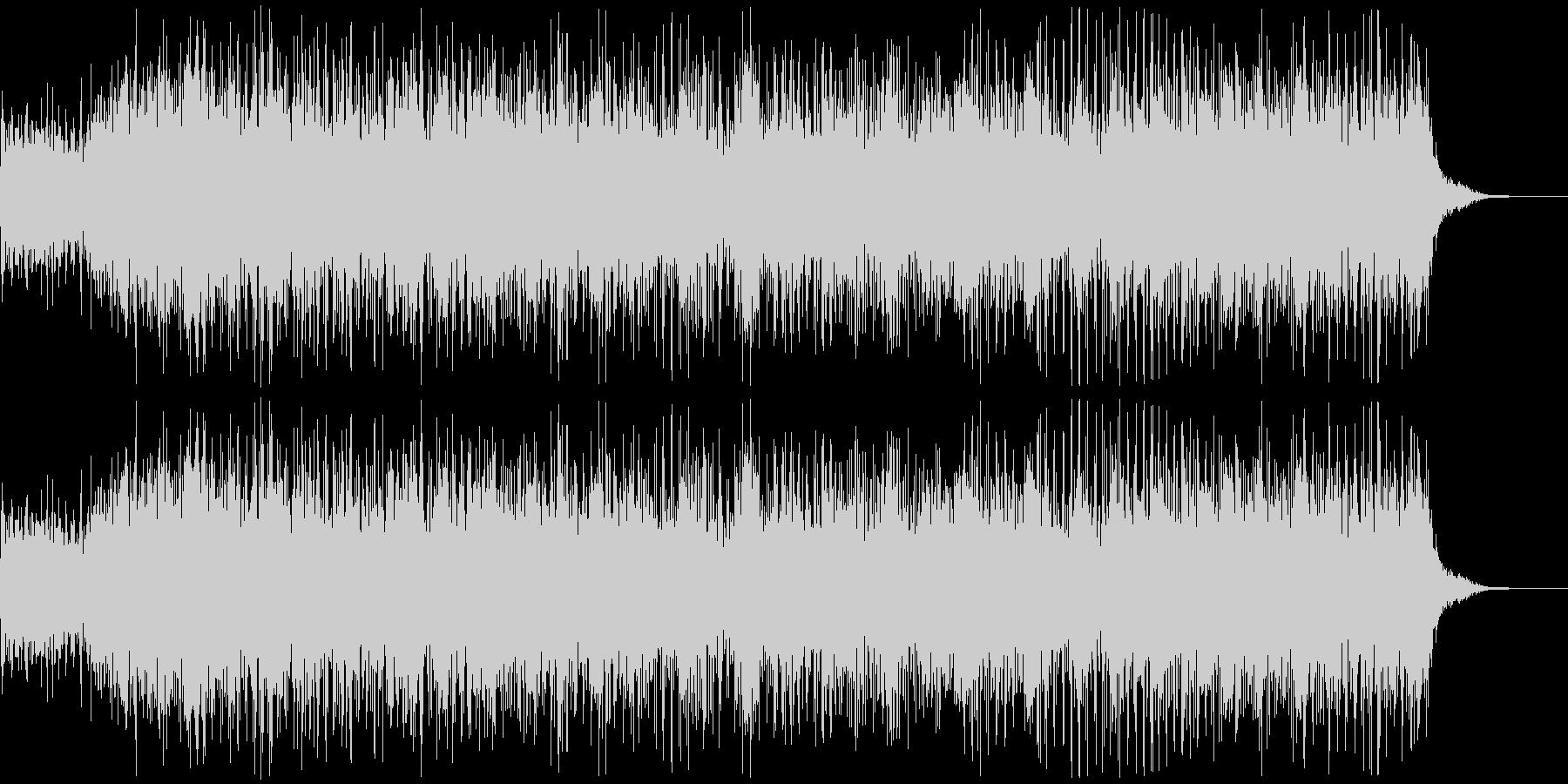 アニメにありそうなガンポッド、マシンガンの未再生の波形
