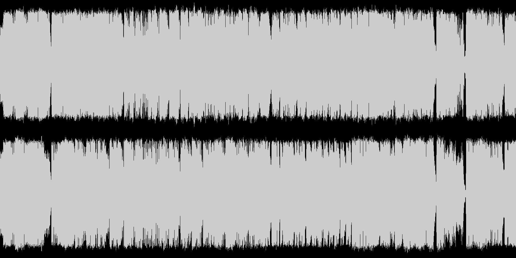 ファンタジー系_ボスバトル:オーケストラの未再生の波形