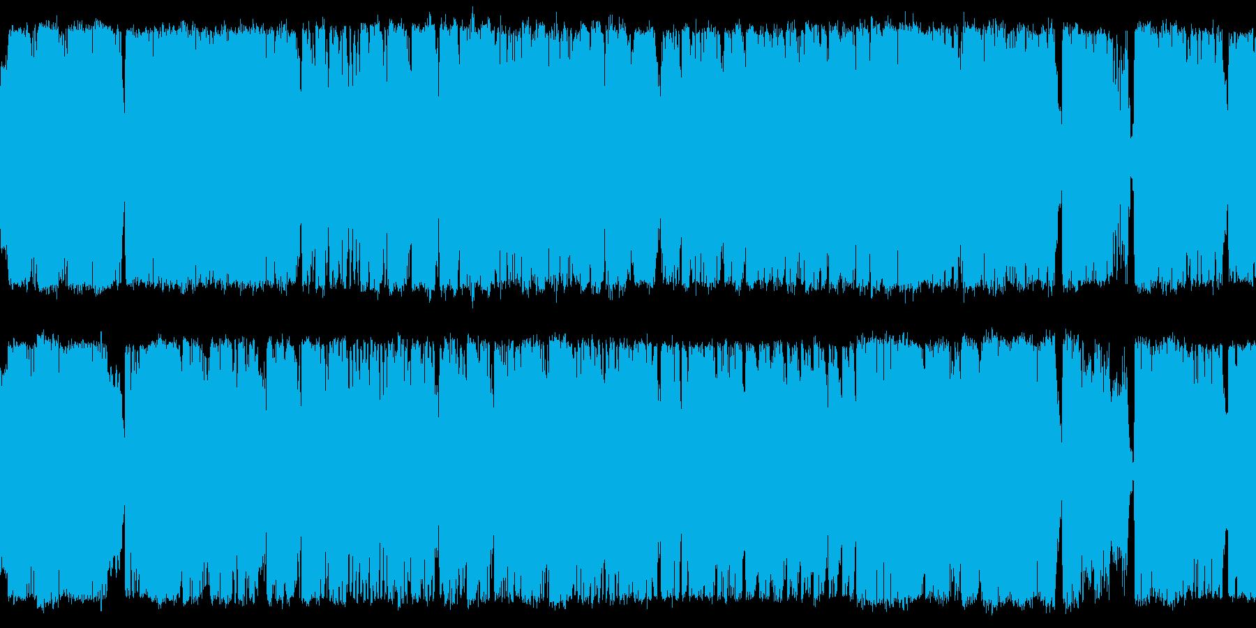 ファンタジー系_ボスバトル:オーケストラの再生済みの波形