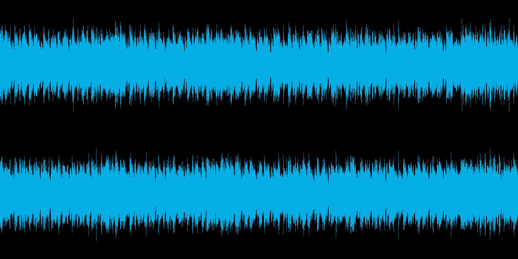 民族調 行進曲 ループの再生済みの波形